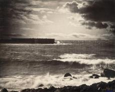 Gustave Le Gray; The Great Wave; 1857; albumen silver print from glass negative; 33.7 x 41.4 cm; The Metropolitan Museum of Art