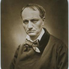Etienne Carjat; Charles Baudelaire; 1878; albumen print from wet collodion negative; International Museum of Photography at George Eastman House, Rochester, NY