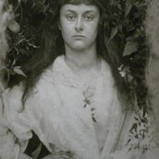 Julia Margaret Cameron; Pomona (Alice Liddell); 1872; albumen print; 36.8 x 28.5 cm