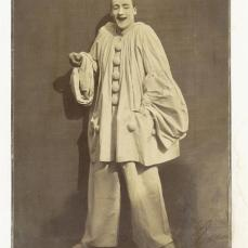 Félix Nadar; Pierrot Laughing; 1855; gelatin-coated salted paper print; The Metropolitan Museum of Art, New York, NY