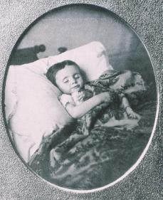 Dead Child; 1850; gelatin silver print