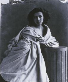 Félix Nadar; Sarah Bernhardt; 1864; albumen print; Bibliothèque nationale de France
