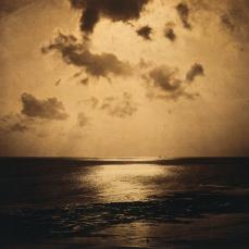 Gustave Le Gray; An Effect of the Sun, Normandy; c.1856; albumen print from wet collodion negative; The Cleveland Museum of Art