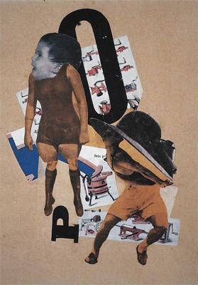 Hannah Höch; Bourgeois Wedding Couple (Quarrel); 1919