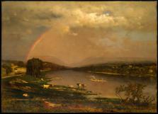 George Inness; Delaware Water Gap; 1861; oil on canvas; 36 x 50 1/4 inches