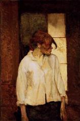 A Montrouge - Rosa La Rouge 1887 oil canvas