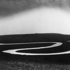 Bill Brandt; Cuckmere River, Sussex; 1963; gelatin silver print; 19.2 x 23.4 cm