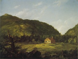 Thomas Cole; House, Mount Desert Island, Maine; 1845