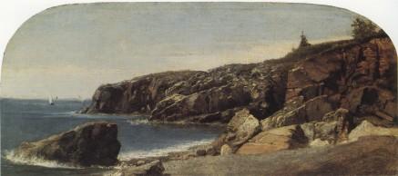 Thomas Cole; Sandy Beach, Mount Desert Island, Maine; 1844