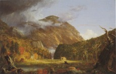 Thomas Cole; View of Mountain Pass Called Notch of White Mountains; 1839