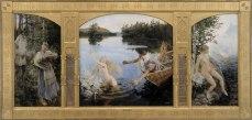 Gallen_Kallela_The_Aino_myth Triptych1891