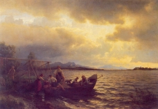 Hans_Gude--Fra_Chiemsee--1868