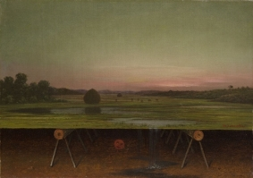 Martin Johnson Heade; Gremlins in the Studio; 1875