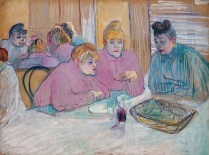 Henri_de_Toulouse-Lautrec_The ladies in the brothel dining-room030