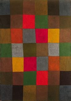 Paul Klee; New Harmony; 1936; oil on canvas; 93.6 x 66.3 cm; Solomon R. Guggenheim Museum, New York