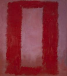 Mark Rothko; Red on Maroon Mural, Section 4 of the Seagram Murals; 1959; Tate Modern, London, UK