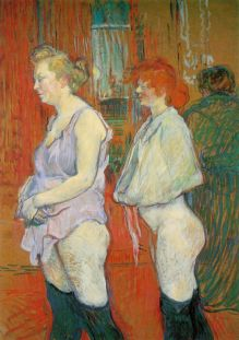 Rue des Moulins The Medical Inspection 1892