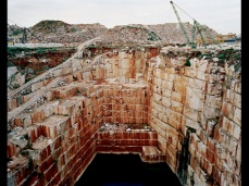 Edward Burtynsky; Iberia Quarries 1; 2006