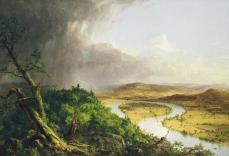 Thomas Cole; The Oxbow; 1836