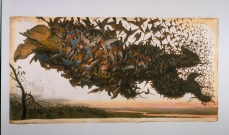 Walton Ford; The Falling Bough; 2002