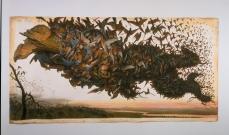 Walton Ford; The Falling Bough; 2002