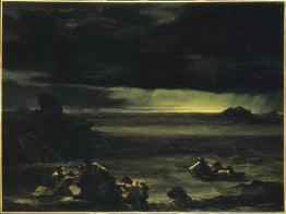 Théodore Géricault; Deluge; 1818-20; oil on canvas; 97 x 130 cm; Musée du Louvre