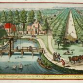 Jan van Vienen; The entertaining side of Malieben in Utrecht; c.1698; Elizabeth Barlow Rogers Collection (new York, NY)