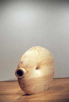 Martin Puryear; Deadeye; 2002; pine