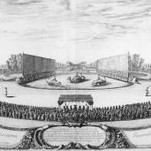 Israel Silvestre; Les plaisirs de l'isle enchantée, ou, Les festes et diuertissements du roy à Versailles; drawing; 17th century