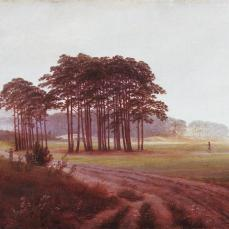Caspar David Friedrich; Four Times of Day: Noon; 1820-5; oil on canvas; 22 x 30.5 cm