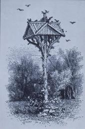 Frederick Law Olmsted; New York: Central Park Reference: Bird House in Ramble; 1869; New York, NY
