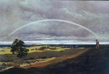 Caspar David Friedrich; Landscape with Rainbow; 1810; oil on canvas; 59 x 84.5 cm; Staatliche Kunstsammlung Weimar