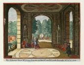 Johannes van de Aveele; Zorgvliet: The Beautiful Grotto; etching; 1691-98; 12.5 x 16 cm; Elizabeth Barlow Rogers Collection