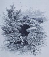 Frederick Law Olmsted; New York: Central Park Reference: Rock Bridge in Ravine; 1869; New York, NY