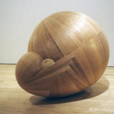 Martin Puryear; Untitled; 1993-5; red cedar and pine