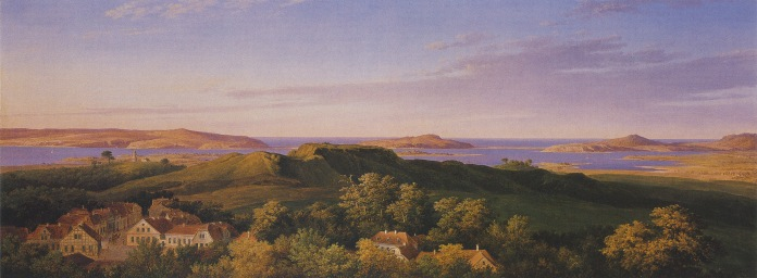 19C._Schinkel_Karl_Friedrich_Rugard_on_the_Island_of_rugen_1821