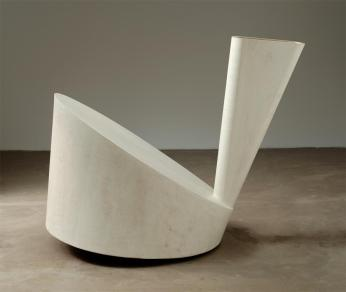 Martin Puryear; Verge; 1987; painted wood; 171.1 x 213.4 x 117.5 cm; The Museum of Modern Art