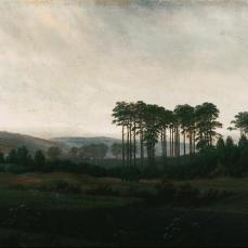 Caspar David Friedrich; Four Times of Day: Afternoon; 1820-5; oil on canvas; 22 x 31 cm