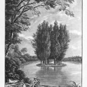 J. Merigot; L'isle des peupliers; 1788