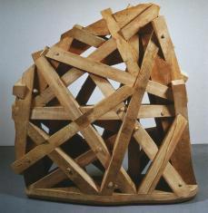 Martin Puryear; Thicket; 1990; basswood an cypress