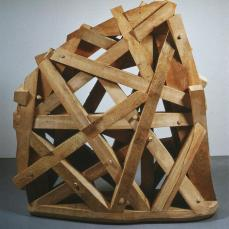 Martin Puryear; Thicket; 1990; basswood an cypress