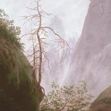 Caspar David Friedrich; Ravine; c.1823; oil on canvas