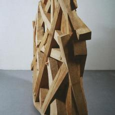 Martin Puryear; Thicket; 1990; basswood and cypress