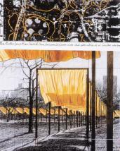 Christo; The Gates (drawing); 20th century