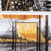 Christo; The Gates (drawing); 20th century