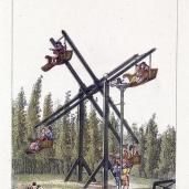 G. Van Laar; Magazijn van Tuin-Sieraaden, plate CXXI; 1802; drawing