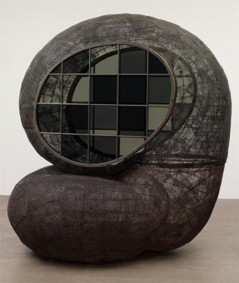 Martin Puryear; Horsefly; 1996-2000; wire mesh, tar, glass, and wood; 246.4 x 200.7 x 241.3 cm; The Museum of Modern Art