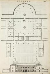 Andrea Palladio; Villa Serego at Santa Sophia, Four books on architecture; c.1570; 28.58 x 20.00 cm; Elizabeth Barlow Rogers Collection (New York, NY)