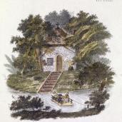 G. Van Laar; Magazijn van Tuin-Sieraaden, plate CLXXXI; drawing; 1802