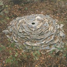 Andy Goldsworthy; Slate, Stonewood; 1987; Dumfriesshire